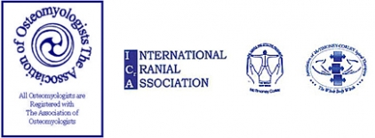 The Association of Osteomyologists, International Cranial Association Logos